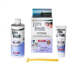 Mundgeruch Therapie mit dem Tetro Breath System